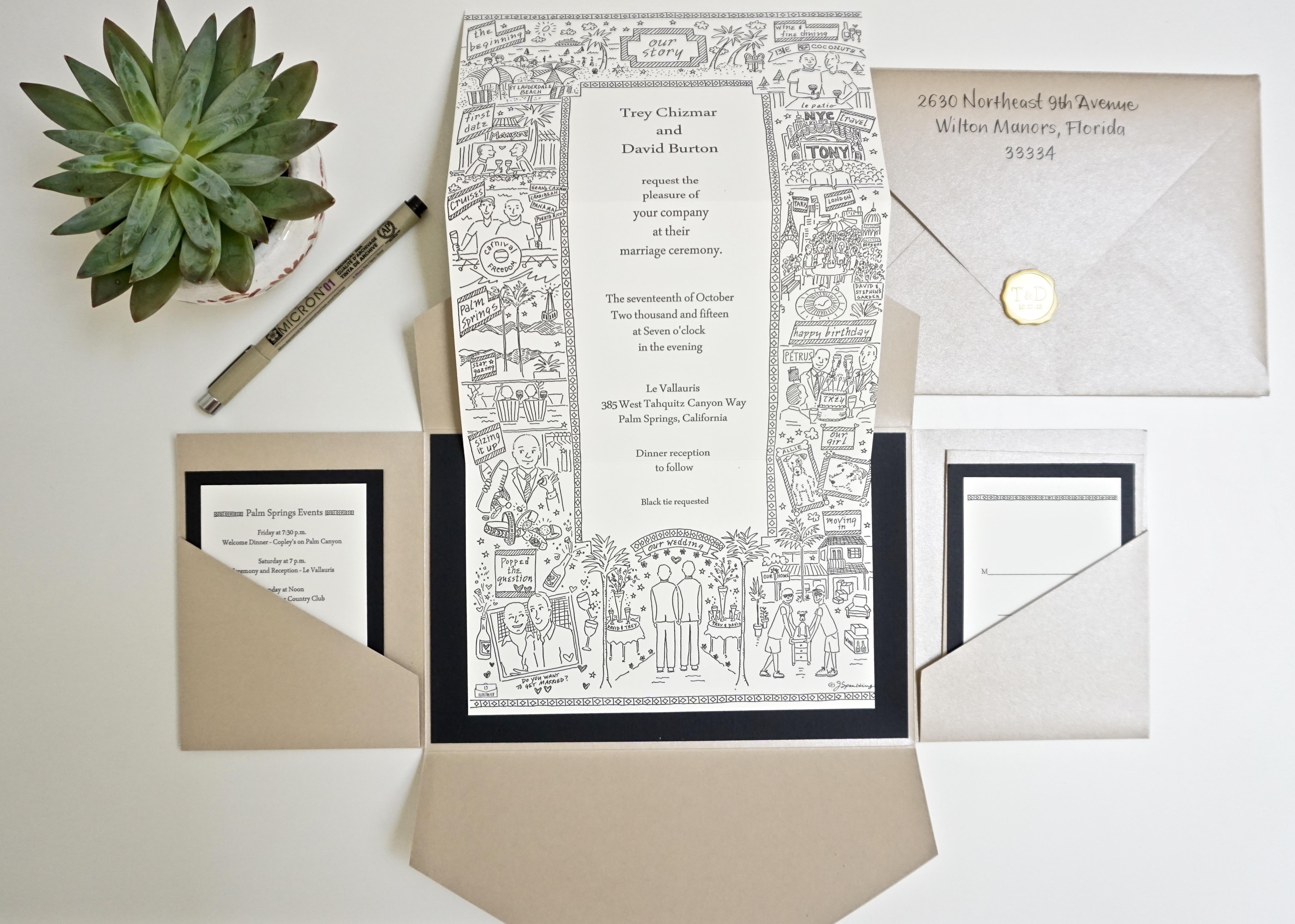 invitations u illustrated